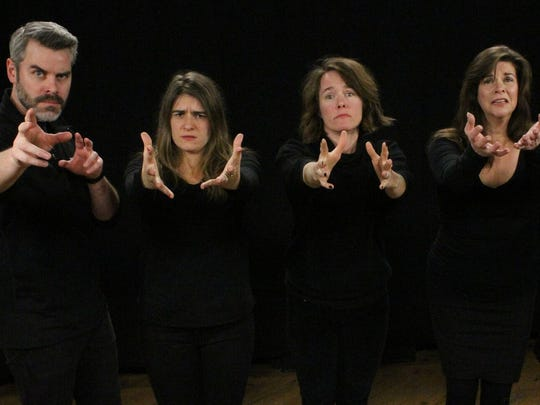 The sketch-comedy troupe Stealing from Work follows next week's Burlington shows with a March 30 appearance in Middlebury.