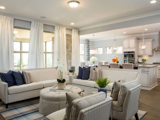 Fresh Perspectives staged this home in Franklin's Ladd