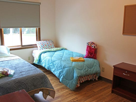 Eight bedrooms at Hope House can accommodate a total