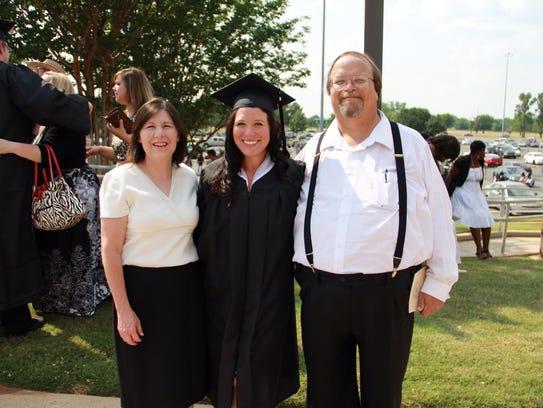 Robert Westerman at his daughter's graduation.