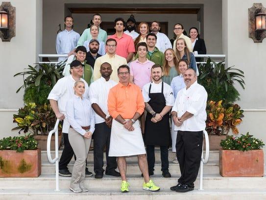 Citrus Grillhouse Chef Scott Varrichio and his team