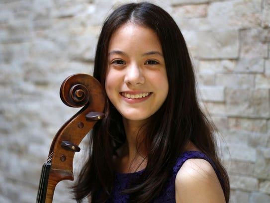 Cellist Carson Ling-Efird will be front and center for two movements of a concerto by Saint-Saens.