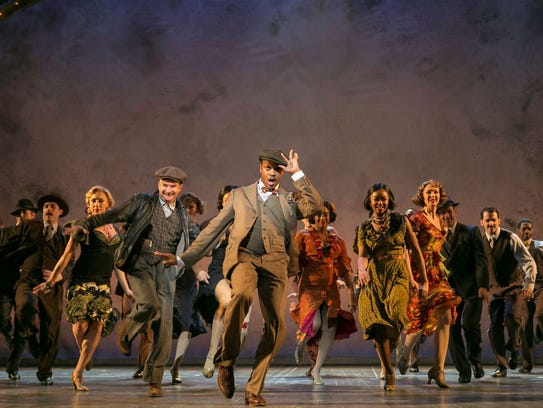 """The Sting"" at Paper Mill Playhouse."