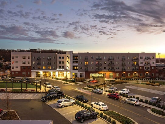 Station 40 apartments in Sylvan Park