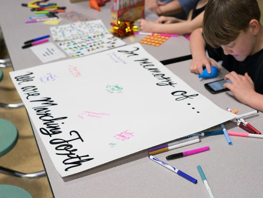 Parkview High School students participate in a night