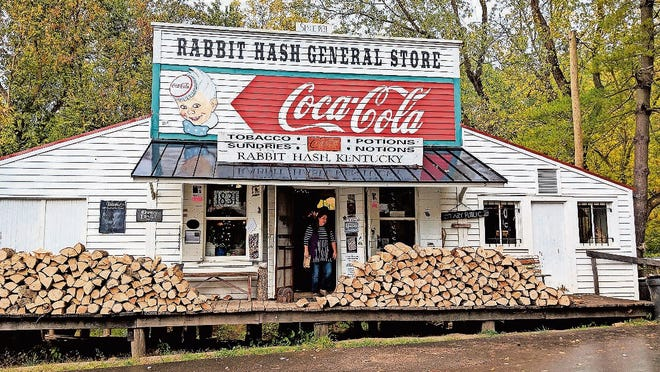 The Rabbit Hash General Store -- in operation since 1831 -- is a major tourist attraction for the town.