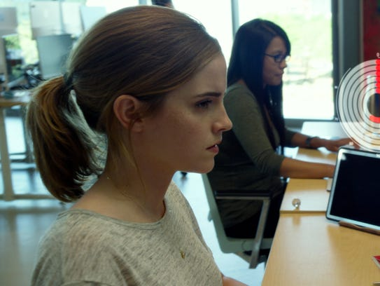 Emma Watson starts out as a customer service rep in