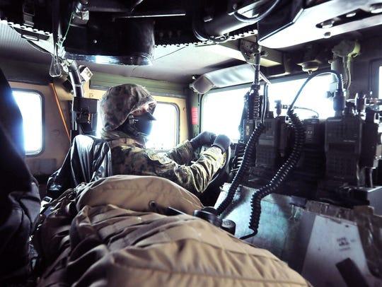 U.S. Marine Corp reservist Cpl. De'Andre Rogers, a