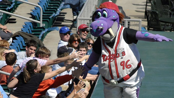 """The Lansing Lugnuts have been holding Grand Slam School Day games for area children since 1999. The team says the morning games are """"a chance for classroom learning that compliments the day at the park."""""""