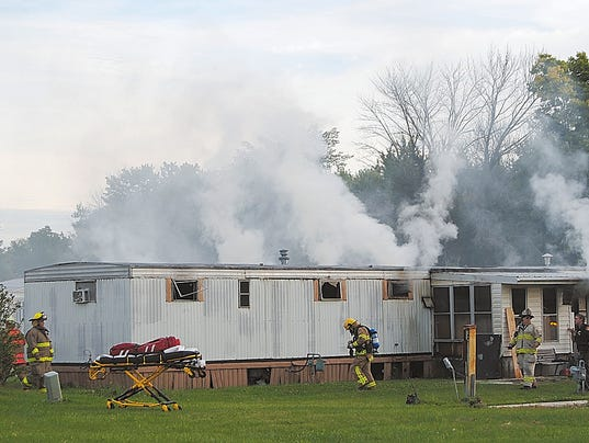 AP Ohio Mobile Home Fire