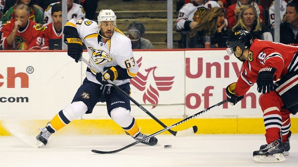 Predators center Mike Ribeiro is a defendant in a lawsuit involving alleged sexual assault.