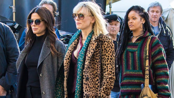 Sandra Bullock, Cate Blanchett and Rihanna on the New