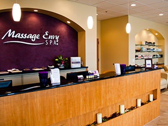 File photo: Image of a Massage Envy store.