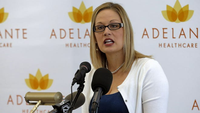 Rep. Kyrsten Sinema, D-Ariz., is the first member to describe herself as not having a religion.