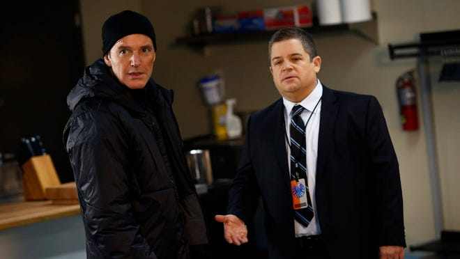 The dismantling of S.H.I.E.L.D. is a bum deal for Agent Coulson (Clark Gregg, left) but a good one for viewers, who get guest star Patton Oswalt.