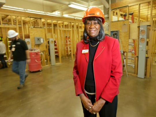 Dorothy Walker serves as interim dean of the technology and applied sciences division at MATC.