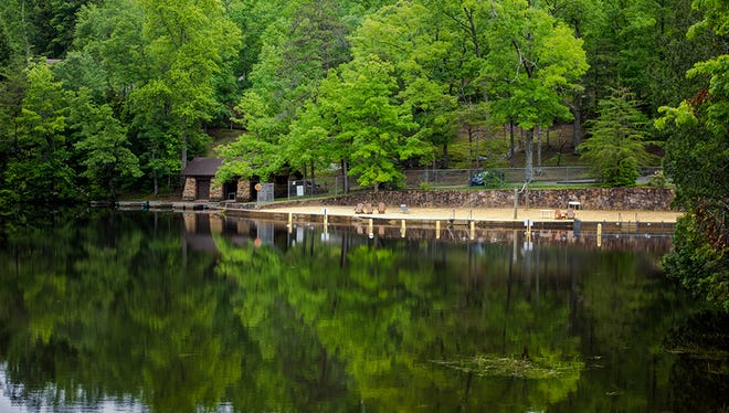 Enjoy the great outdoors this holiday weekend at one of Tennessee's state parks, such as Pickett State Park in Jamestown, Tenn.