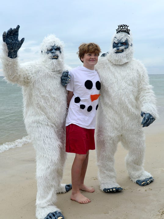 Polar Bear Dip at the Flora-Bama