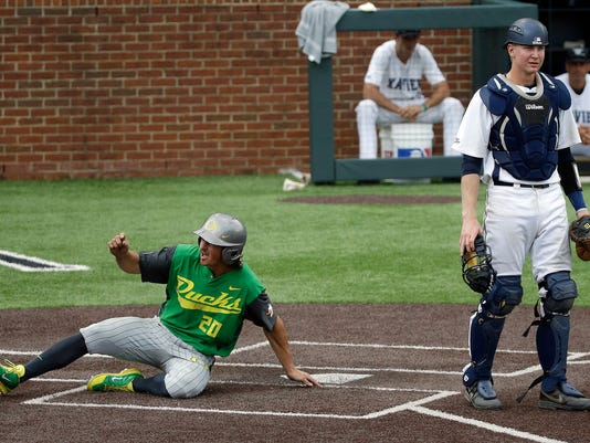 NCAA Oregon Xavier Baseball