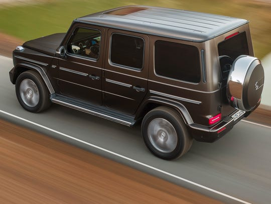 Mercedes-Benz G-Class also owns the road