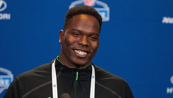 Louisiana Tech defensive lineman Vernon Butler at the Senior Bowl.