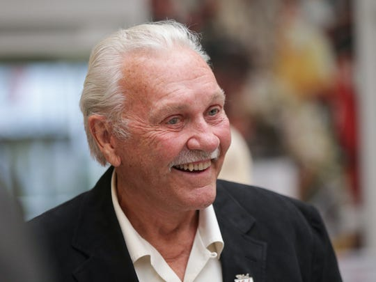 Retired race car driver and founder of Simpson Performance Products Bill Simpson attends the third annual 500 Prelude, hosted by the first lady of racing, Linda Vaughn, at the Indianapolis Motor Speedway Museum, Monday May 16th, 2016. The event  benefitted the Survivors of Violence Foundation founded by Aesthetic Facial Plastic and Reconstructive Surgeon Dr. Greg Chernoff, and 1995 Oklahoma terrorist bombing survivor Royia Grizzell.