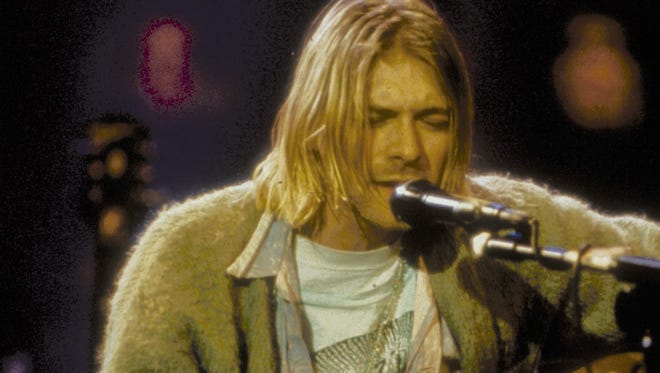 Kurt Cobain and Nirvana performed on 'MTV Unplugged' in November  1993.