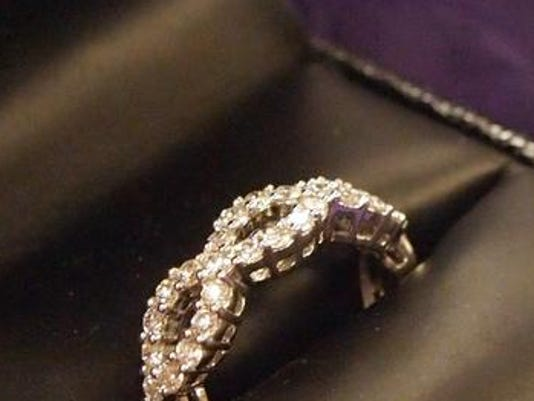 Diamond ring from The Goldsmith