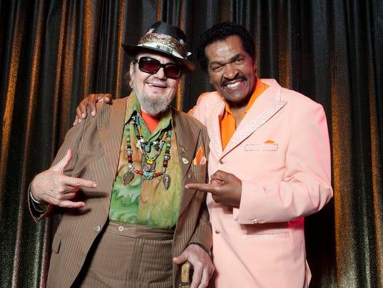 Dr. John, left, and Bobby Rush