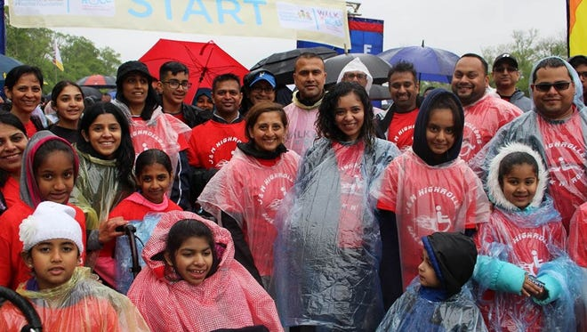 Team J&M Highrollers didn't let the rain stop them! One of the top 5 fundraisers for the 12th Annual Walk n' Roll, the team showed up in force at Johnson Park in Piscataway, to support Children's Specialized Hospital Foundation.