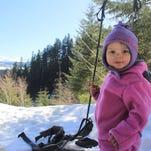 Isaac Nickerson snowshoe loop, Santiam Pass