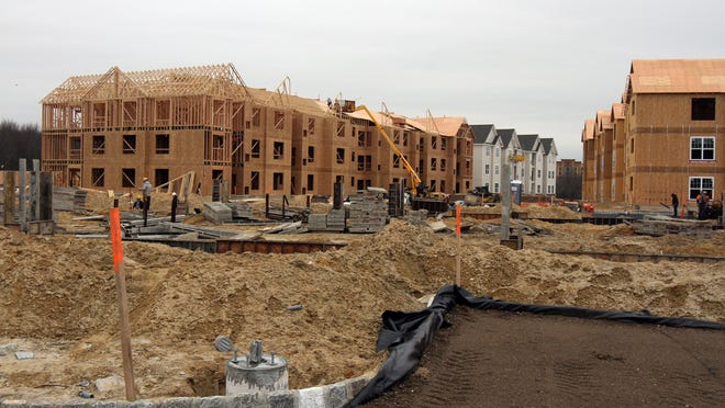 Rents in Monmouth and Ocean counties ticked upward in the past year.