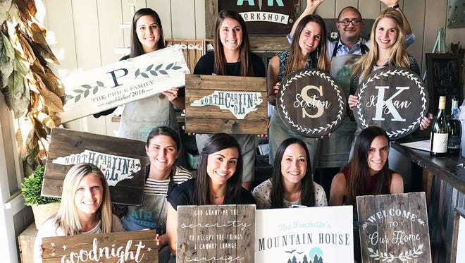 AR Workshop, a DIY boutique workshop, is opening a Tallahassee location for customers to create handmade home décor.