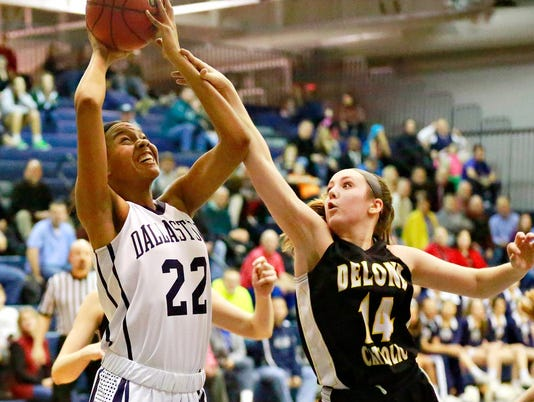 Dallastown-Delone girls' basketball