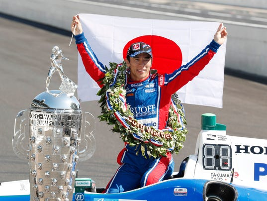 IndyCar: 101st Running of the Indianapolis 500-Winner's Portrait