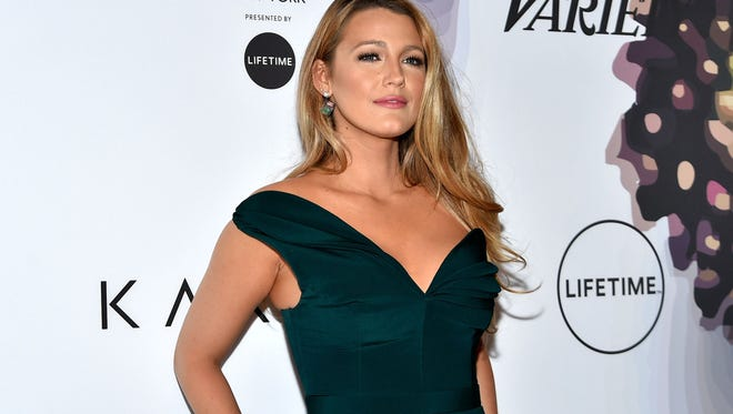 Her jumpsuit may be Brandon Maxwell, but Blake Lively wants reporters to ask her about something other than what she's wearing.