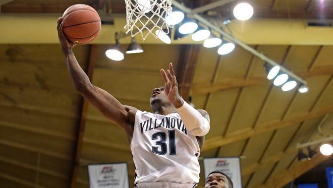Villanova Wildcats guard Dylan Ennis.