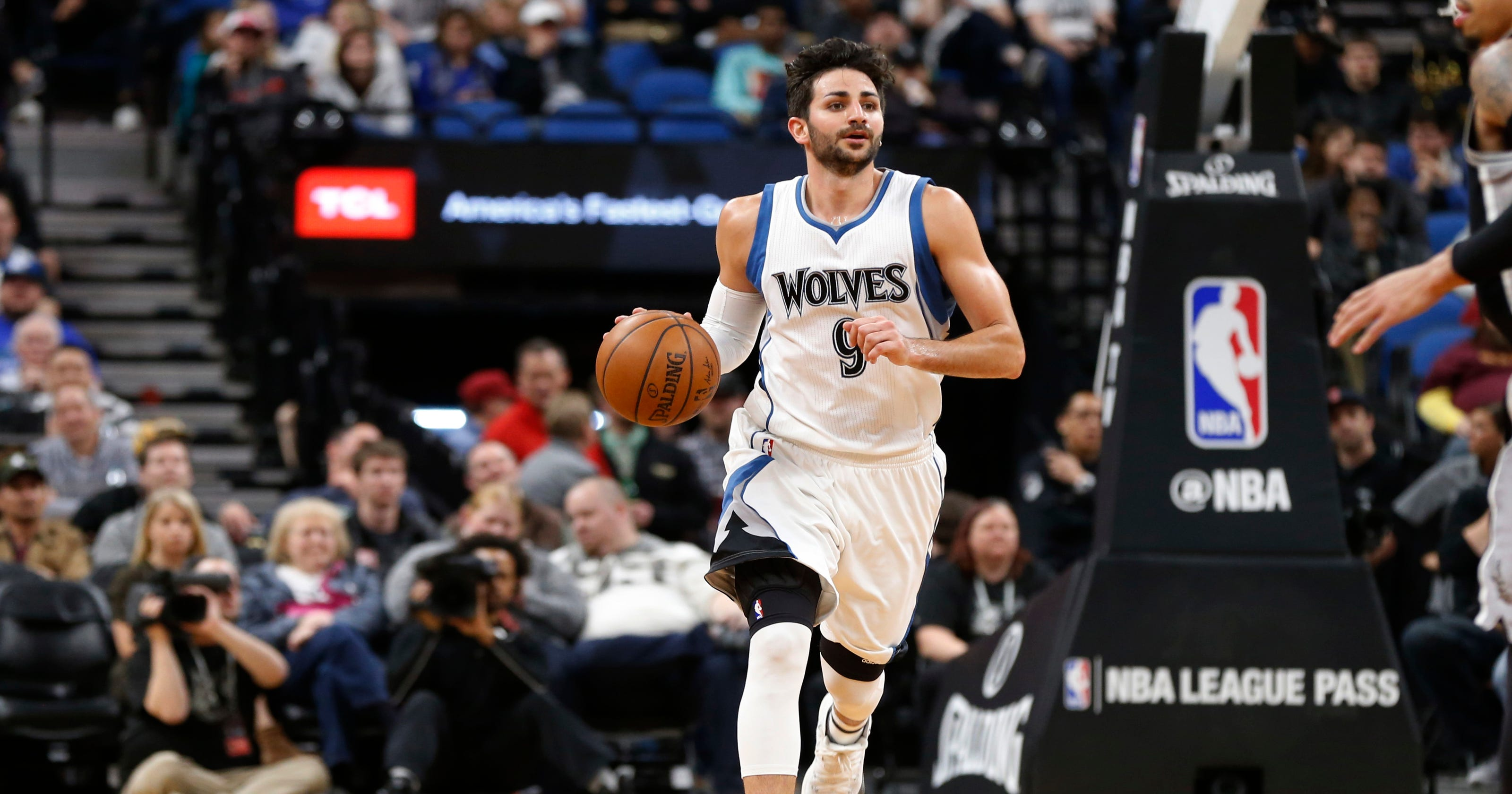 0a08f9b8efb9 AP Source  PG Ricky Rubio going from Wolves to Jazz