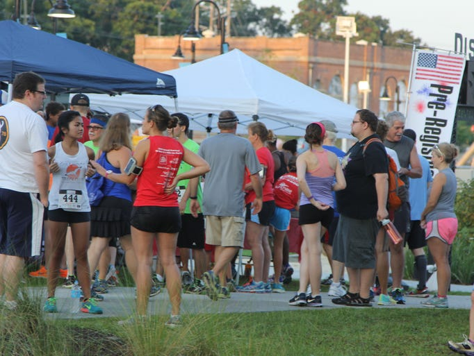 More than 300 runners and walkers took part in the Kiwanis Club of Tallahassee's 32nd Annual Firecracker 5K and 1 Mile Fun Run Friday, July 4.