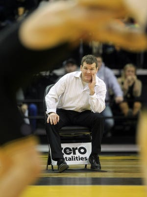 Iowa head coach Tom Brands scored a major recruiting win Wednesday.
