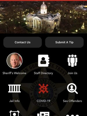 Here's a look at the new Cleveland County Sheriff's Office app.