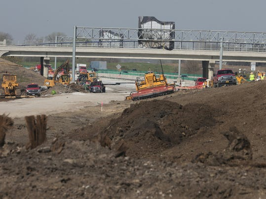 Iowa dot plans record million in road construction