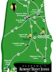 Here's a map of the trail.