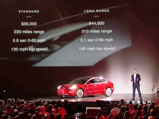 The moment everyone was waiting for. Elon Musk unveils