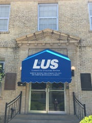 An LUS water system building near downtown Lafayette is shown in this file photo.