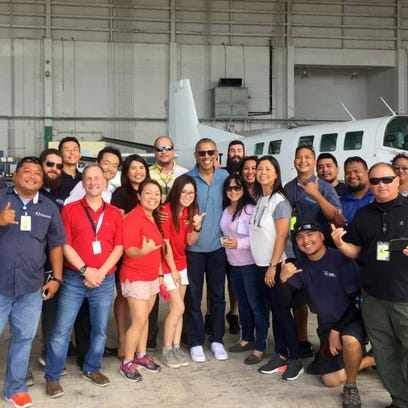 Former President Obama makes pitstop on island, leaves excitement in his wake