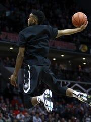 University of Kentucky guard Malik Monk won the inaugural