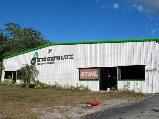 Ankrolab Brewing Co., a microbrewery and garden, is targeted to open in late summer 2017 in this former home of Small Engine World on Bayshore Drive in East Naples.