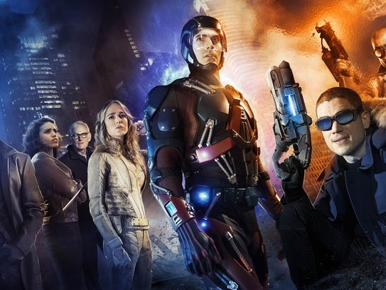 """Poster for """"DC's Legends of Tomorrow."""""""