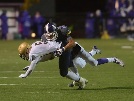 Fremont Ross grad Jeffery Barnett has matured into a two-sport star at Trine University.